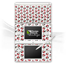 Nintendo DS Lite Folie Aufkleber Skin - Minnie Mouse Pattern