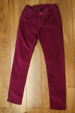 Gap girls purple pink corduroy pants size 8 GUC