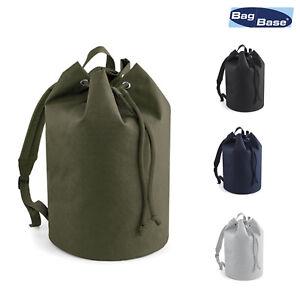 BagBase Original Drawstring Backpack BG127 - College Rucksack Sports Gym Bag