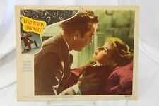 """Kind Hearts and Coronets Original Movie Lobby Card 11"""" x 14"""" 1952 Alec Guinness"""