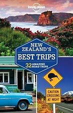 Lonely Planet New Zealand's Best Trips (Travel Guide) New Paperback Book Lonely