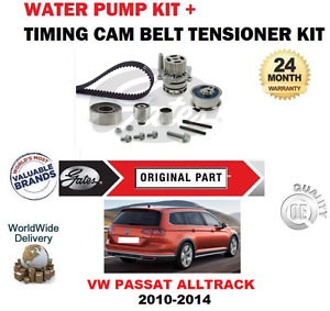 FOR VW PASSAT ALLTRACK CFFB CFGB CFGC 2010-2014 TIMING BELT KIT + WATER PUMP