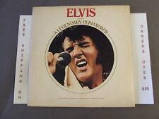 ELVIS PRESLEY A LEGENDARY PERFORMER VOL. I LP W DON'T BE CRUES, HEARTBREAK HOTEL