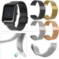 Milanese Uhrenarmbänder Armband für Xiaomi Huami Amazfit Bip BIT PACE Lite Youth
