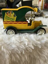 Crayola 1912 Ford Delivery Car Bank #2 Collector's Series 1/24th Scale Gearbox