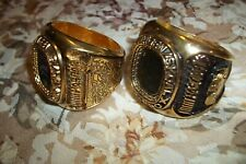2 RARE WINSTON CUP 1994 DALE EARNHARDT 7th WIN BANQUET NAPKIN RINGS DATED 1994