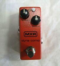 Used MXR M291 Dyna Comp Mini Compressor Guitar Effects Pedal