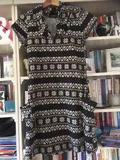 Mela AIME robe London Argyle Style Imprimé L belle condition de Noël