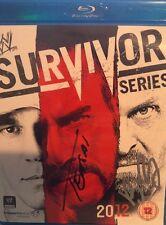 WWE Survivor Series 2012 Blu Ray org Wrestling + Big-Show & Tensai Autogramme