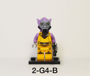Authentic Lego Star Wars Rebels Zeb Orrelios Minifigure 75053 The Ghost Cracked