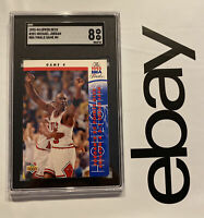 Michael Jordan SGC 8 Upper Deck LAST DANCE Chicago Bulls Man Cave INVEST 1993 NR