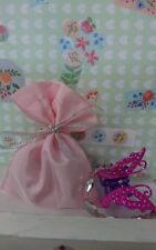 24 Girls Bracelet & Hairclip Fairy Birthday Party Bags favours 4 fairy princess