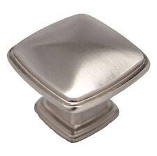 25 CDK 0537-SN Satin Nickel Square Knob Pull Cabinet Hardware Drawer Door