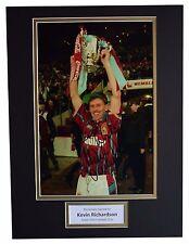 Kevin Richardson SIGNED autograph 16x12 photo display Aston Villa Football COA