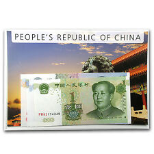 1999-2005 China 1-20 Yuan Banknote Set Unc - SKU #87205