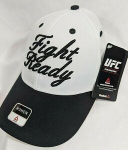 UFC Fight Ready Snapback Hat Reebok Adjustable Cap - Adult One Size