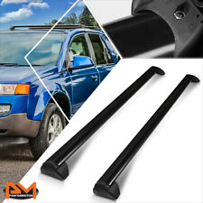 For 02-07 Saturn Vue OE Style Aluminum Roof Rack Crossbar Baggage Carrier Black