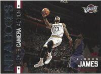 2015-16 Panini NBA Hoops Lebron James Lights Camera Action