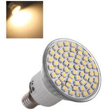 LAMPADA LAMPADINA LED E14 SMD3528 5W 80 60 LED VETRO LUCE CALDA FREDDA NATURALE