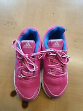 Adidas Girl's Pink Trainers Size 11 Kids