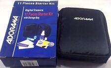 Universal Adorama Digital Camera 11 Piece Starter Kit with Storage Bag