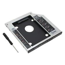 SATA 2nd HDD SSD Hard Drive Caddy For 9.5mm Universal DVD-ROM ODD Optical Bay