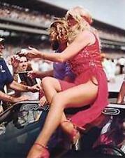 LINDA VAUGHN - GRIZZLY ADAMS SUPER LEGS  INDY 500 8 X 10 PHOTO