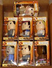 AMC The Walking Dead Wind Ups - Set of 7 - NEW