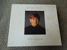 Elton John Made In England RARE French CD Album + Slip Case Cover