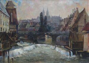Erich Mercker, Karlsbrücke in Nürnberg