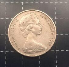 1968 AUSTRALIAN 20 CENT COIN