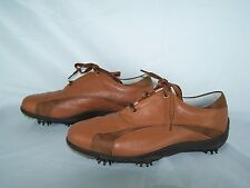 Fj Footjoy Golf Shoes Brown LoPro Collection Women's 9 M