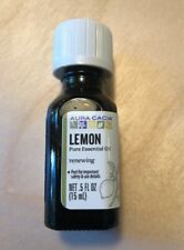 aura cacia lemon essential oil .5oz