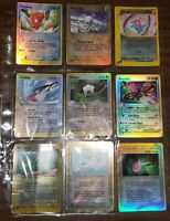Lot Of 9 Reverse Holo Rare E Reader Series Pokemon Cards EXCELLENT - PLAYED