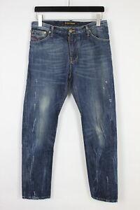 TAKESHY KUROSAWA JAMES Men's W30 L30 Slim Fade Effect Ripped Jeans 32578-GS
