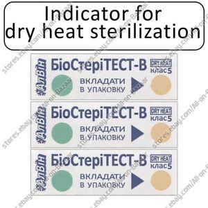 NEW! Indicators for dry heat sterilization BioSTERITEST-V-160/150
