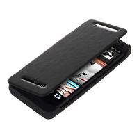 kwmobile AKKU FLIP CASE FÜR HTC ONE M7 HÜLLE COVER POWER BANK 2500 MAH EXTERNER