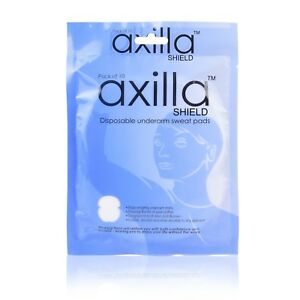 80 axilla-SHIELD SWEAT PADS,DRESS SHIELDS- for underarm sweat stains & patches