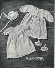 Vintage Baby Layette Knitting PATTERN (NOT FINISHED ITEM)