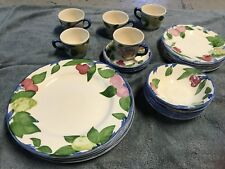 23 Piece Franciscan Orchard Glade Dinnerware Good Condition