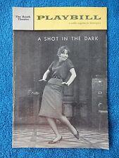 A Shot In The Dark - Booth Theatre Playbill - August 27th, 1962 - Julie Harris