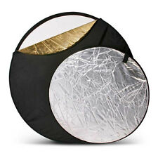 """42"""" Inch 106cm 5-in-1 Light Mulit Collapsible Reflector"""