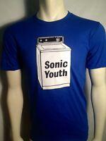 AUTHENTIC SONIC YOUTH WASHING MACHINE LOGO ROCK MUSIC BAND T TEE SHIRT S M L XL