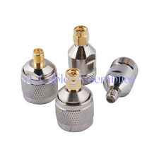 4 kinds of  SMA-N RF Adapter Kit SMA to N-Type Hot for 3G Wireless Antenna