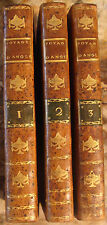 CHANTREAU. VOYAGE EN ANGLETERRE, ECOSSE ET IRLANDE EN 1788-1789. 1792. 3 VOLUMES