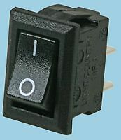 Mini 12 volt rocker switch for car,UK seller. New, TINY