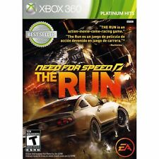 NEED FOR SPEED THE RUN PLATINUM HITS (XBOX 360) Brand New sealed ships NEXT DAY