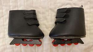 Build a Bear Black Inline Skates