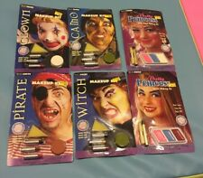 Lot Of 6 Halloween Makeup Kits By Techni faces Paper Magic Lot 2