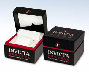 Genuine INVICTA Watch STORAGE Display BOX Case w PILLOW & Cleaning Cloth Unused